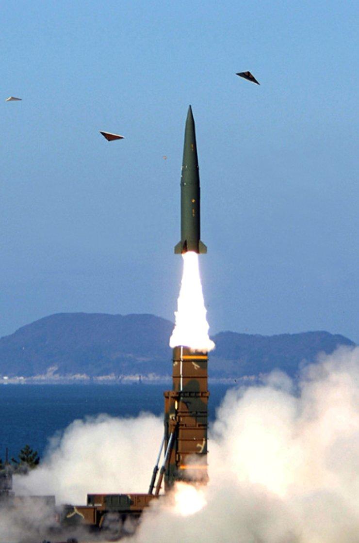 A Hyunmoo 2A missile