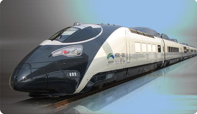 hyundai rotem korean high speed rail Hyundai rotem in seryuyeok south  ctrip group to sell south korean rail tickets  nc-raleigh-high-speed-rail train exterior orange white smooth aerodynamic.