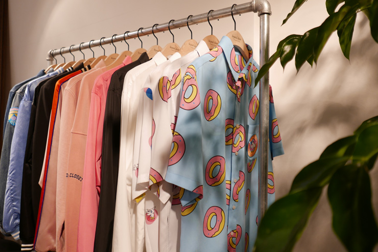 ... Collection With Odd Future Is Displayed On A Hanger At His Flagship  Store In Gangnam, Southern Seoul, Wednesday. / Courtesy Of Beyond Closet
