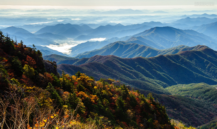 Mount Bukhan is one of the national parks and beloved by Seoul citizens because its accessibility./Courtesy of National Park Service