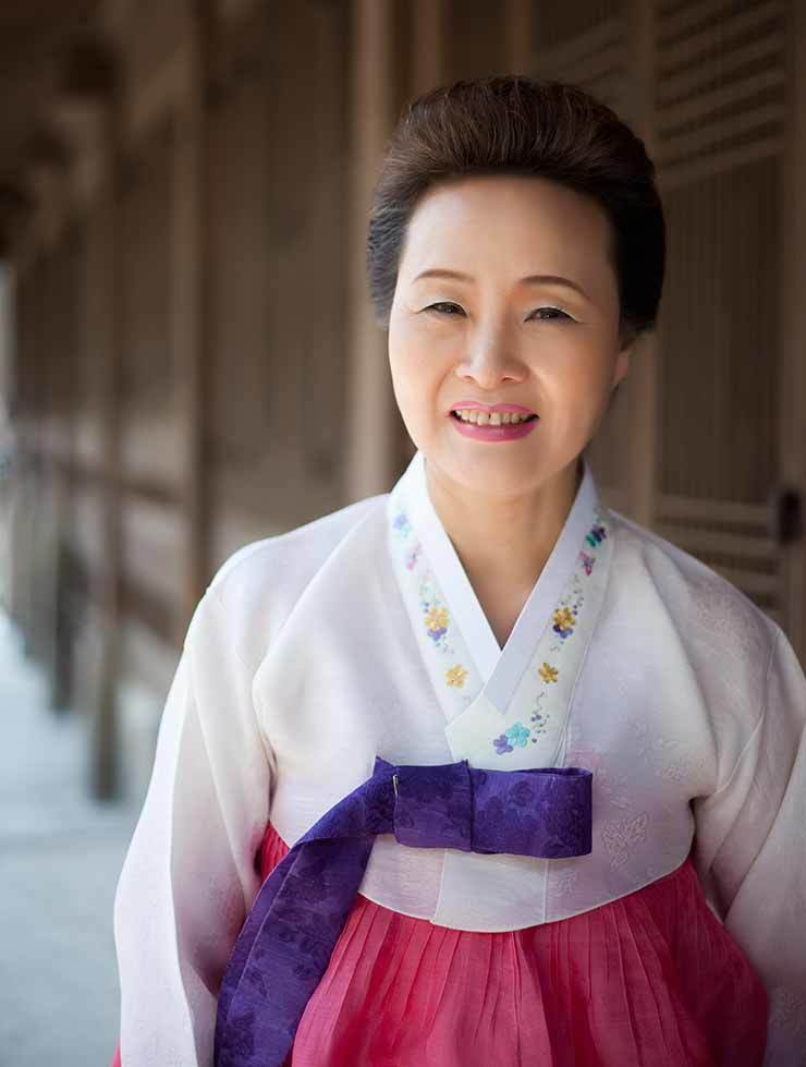 Yoon Sook-ja, president of Institute of Korean Traditional Food   / Courtesy of the institute
