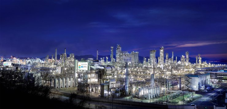 GS Caltex factory in Yeosu, South Jeolla Province / Courtesy of GS Caltex