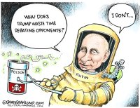 Putin opponent poisoned