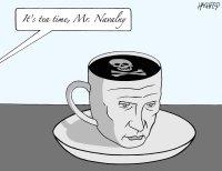 Tea time for Navalny