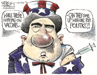 Vaccination from politics
