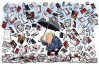 Trump book storm