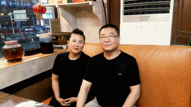 Jin Zheng Shu, left, and Jin Song Gen