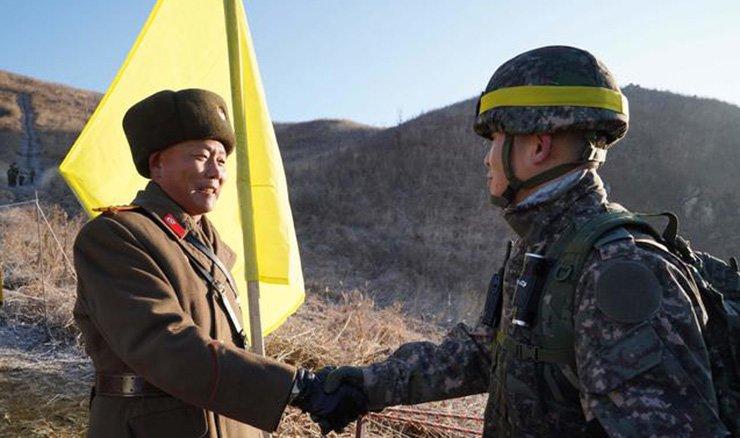 Two Koreas are seeking a lasting peace on the Korean Peninsula. Courtesy of Defense Ministry