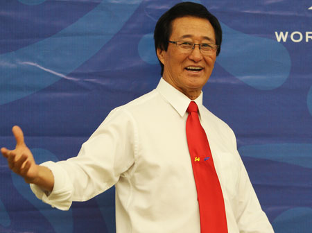 moon daiwon father of mexican taekwondo