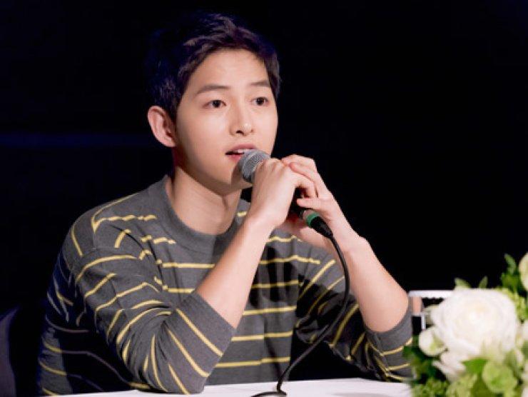 Song Joong-ki / Korea Times File
