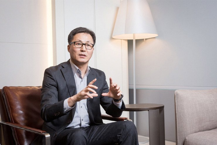 Kim Hark-sang, Samsung's head of its visual R&D team and mobile communications business / Courtesy of Samsung Electronics