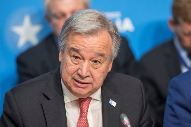 UN Secretary-General Antonio Guterres / Reuters