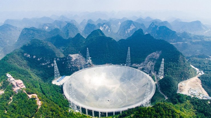 Fast is the world's largest radio telescope and could help to expand scientists' understanding of the universe.