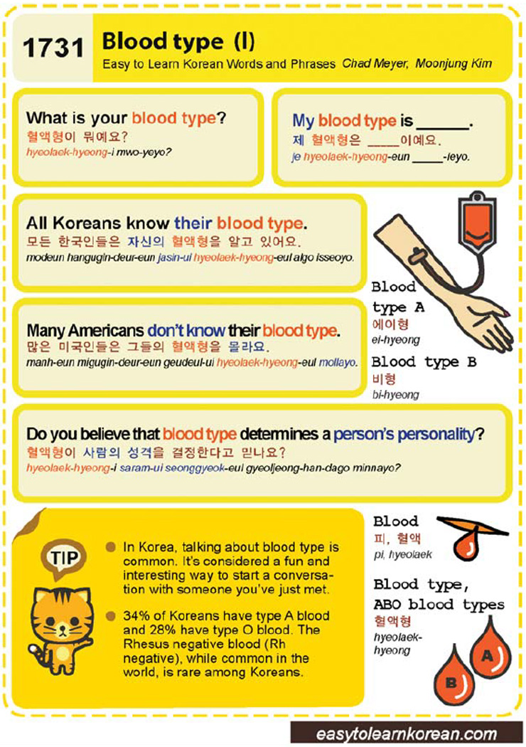 korean blood type dating Quizzes quiz personality quiz anatomy blood bloodtype health world follow which blood type personality are you.