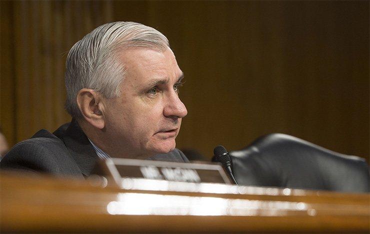 Sen. Jack Reed / Courtesy of U.S. Department of Defense