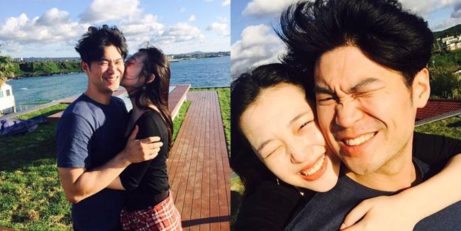 sulli shares photos of boyfriend choiza