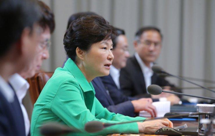 President Park Geun-hye / AP-Yonhap