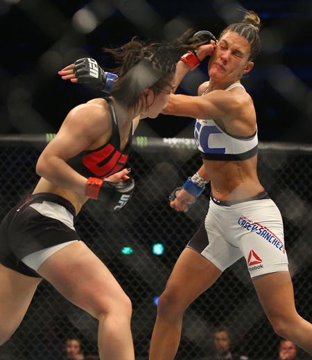 Seo Hee Ham Vs. Danielle Taylor, UFC Fight Night 97 In