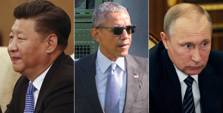Xi JingpingBarack ObamaVladimir Putin