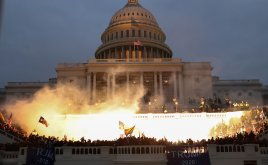 Pro-Trump rioters breach the US Capitol