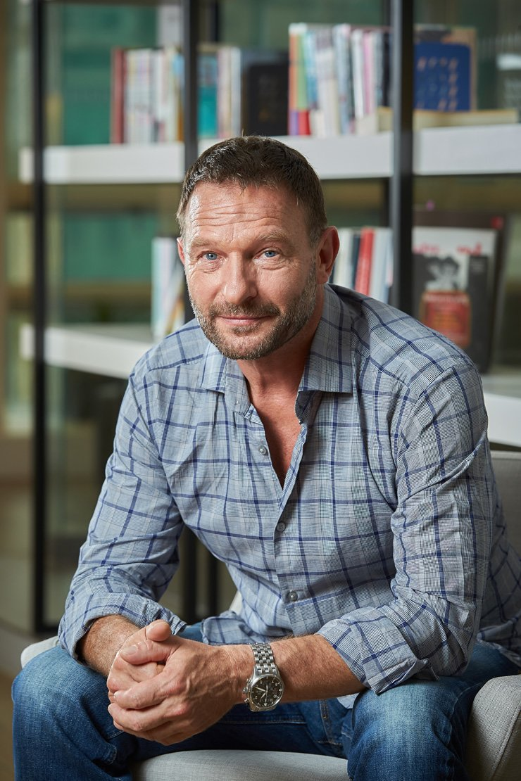 German actor Thomas Kretschmann poses during an interview at the Intercontinental Hotel in Samseong-dong, Seoul, Tuesday. / Courtesy of Showbox