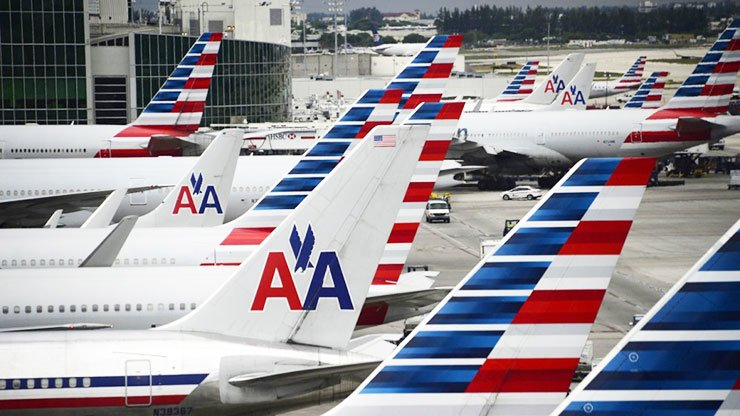 American Airlines flights to Hong Kong could be disrupted. / Courtesy of AFP