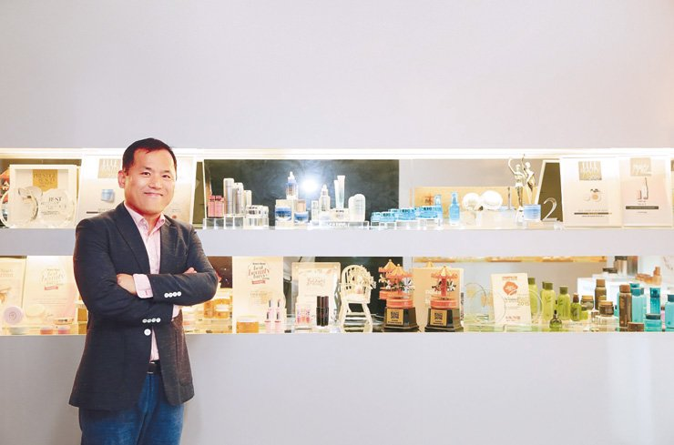 Na Jung-kyun, head of AmorePacific's ASEAN Regional Headquarters in Singapore / Courtesy of AmorePacific