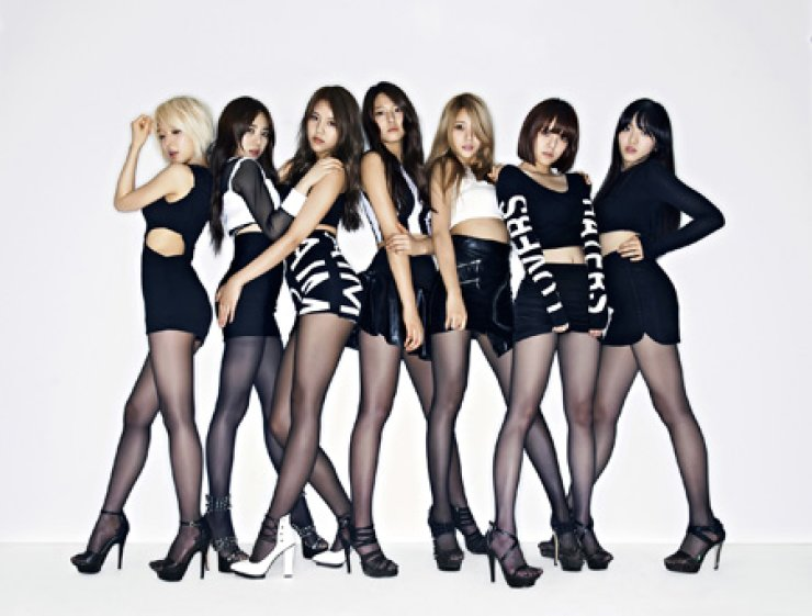 AOA /Courtesy of FNC Entertainment