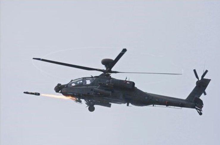 Apache Guardian (AH-64E) / Screen captured from Twitter