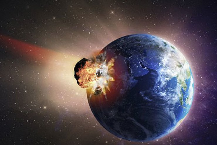 The meteorite that flew close to Earth last month might return in 19 years and collide with us. / Courtesy of Corbis