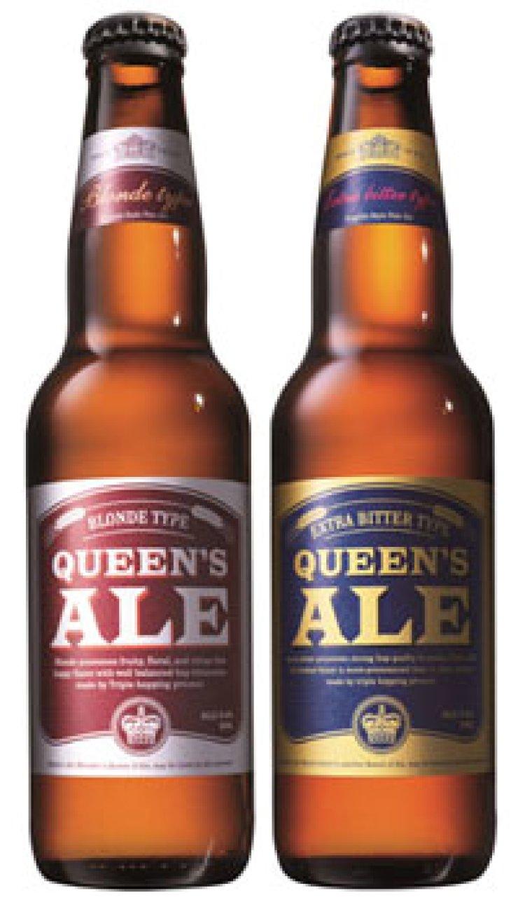 Hite Jinro's Queen's Ale