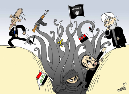 ISIS dragging Iran, US in Iraq