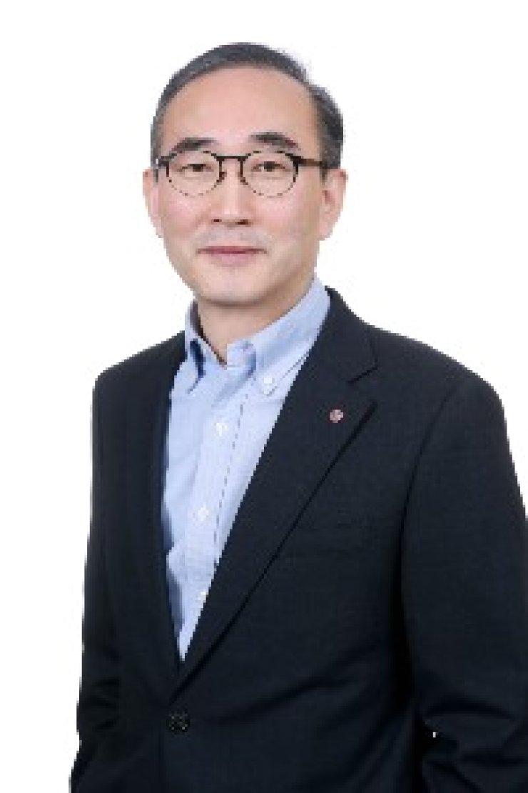 LG CNS CEO Kim Young-shub