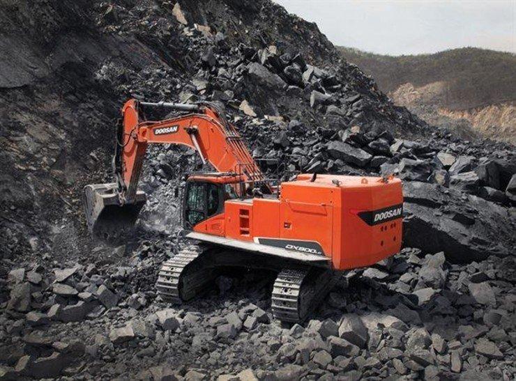Doosan Infracore's excavator / Courtesy of Doosan Infracore