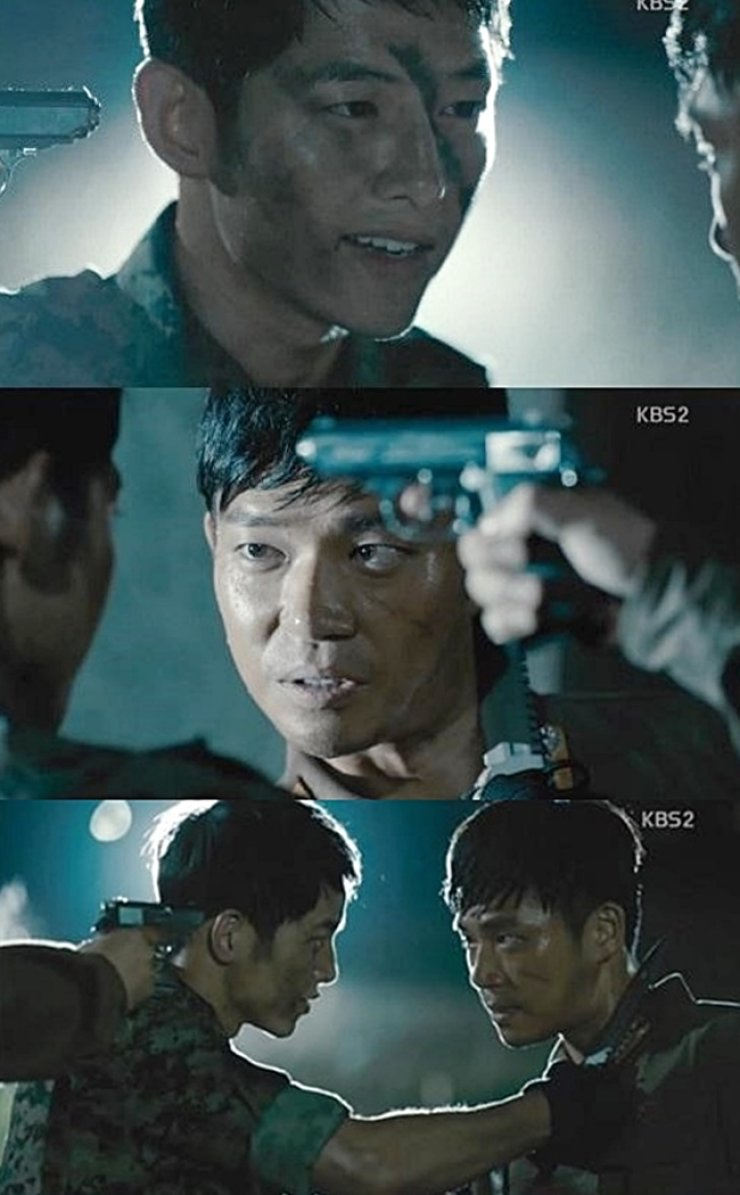 The scene of a fight between South Korean and North Korean soldiers in the first episode / Courtesy of KBS2 TV