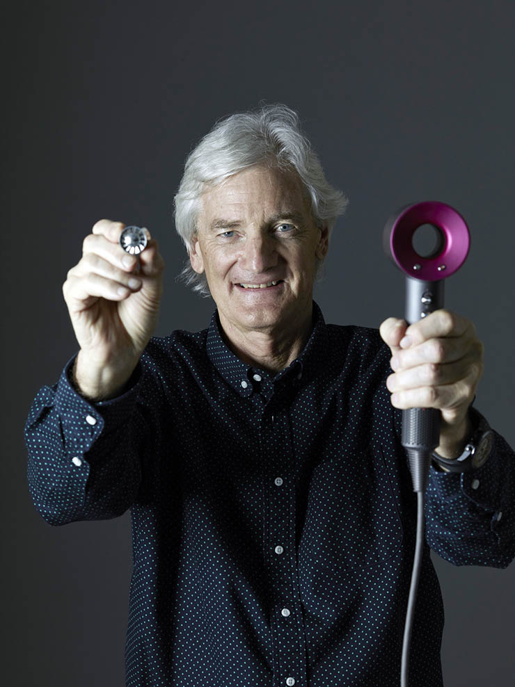 Interview dyson founder leads with engineering mind for James dyson