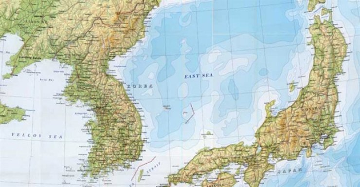 British news outlet The Stack admitted it had wrong information in a map on its website and changed 'Sea of Japan' to 'East Sea.' The person behind the correction was a student at Busan International High School in Korea. / Courtesy of Choi Hyun-jung