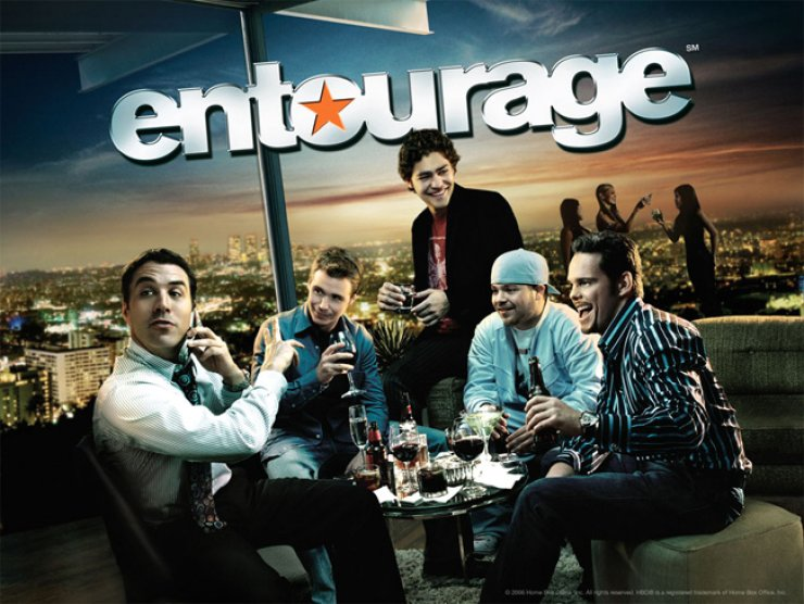 HBO's 'Entourage' poster