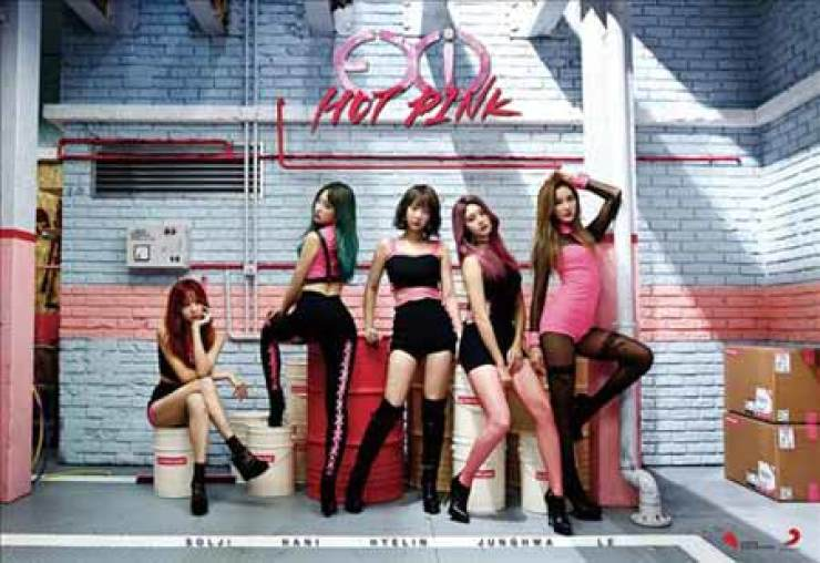 K-pop girl band EXID / Yonhap