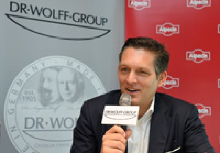 Eduard Doerrenberg, managing director of Dr. Wolff