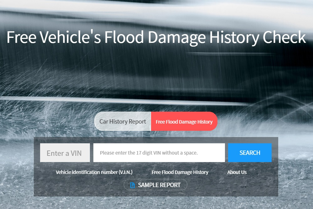 Website offers car accident history in English