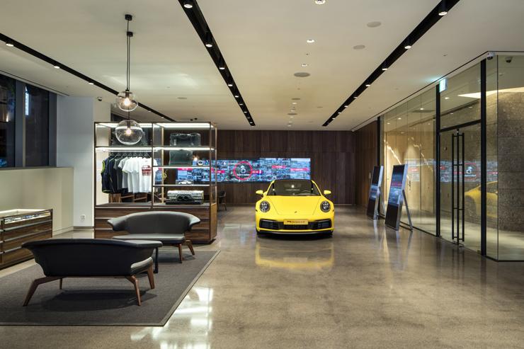 Porsche Studio Cheongdam in Gangnam-gu, Seoul / Courtesy of Porsche Korea