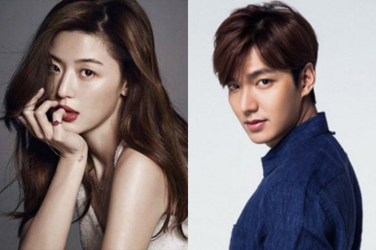 Jun Ji-hyun (left) and Lee Min-ho