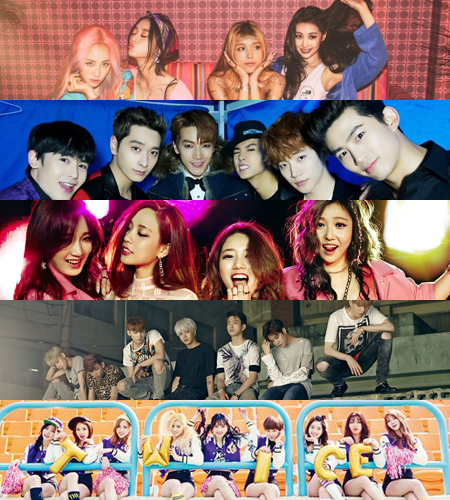 JYP Entertainment artists gather for 'Encore'