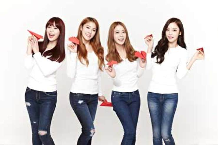 K-pop girl band KARA / Korea Times file