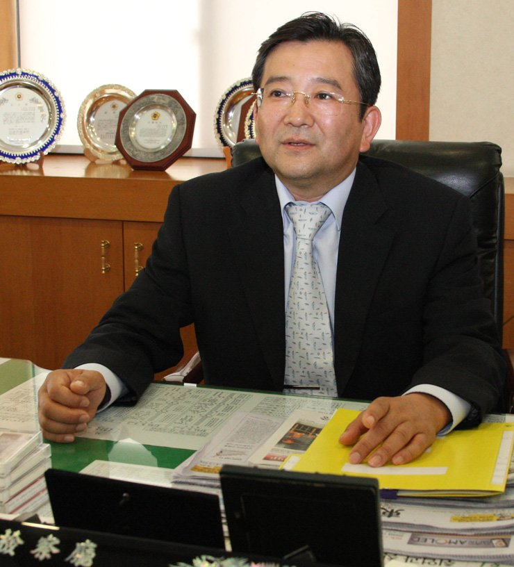 Former Vice Justice Minister Kim Hak-ui. / Yonhap