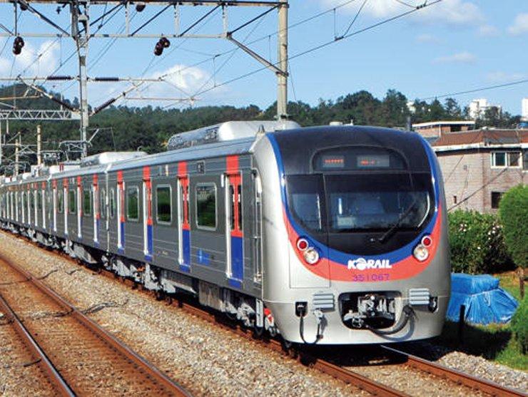 A Korail subway train / Courtesy of Korail