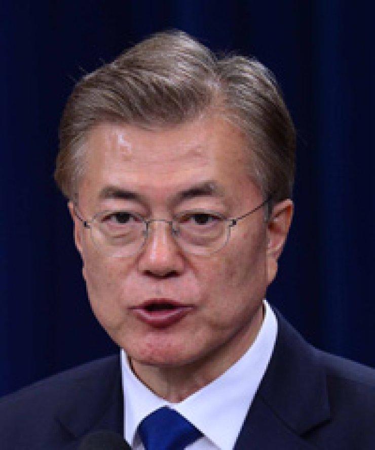 Korean President Moon Jae-in