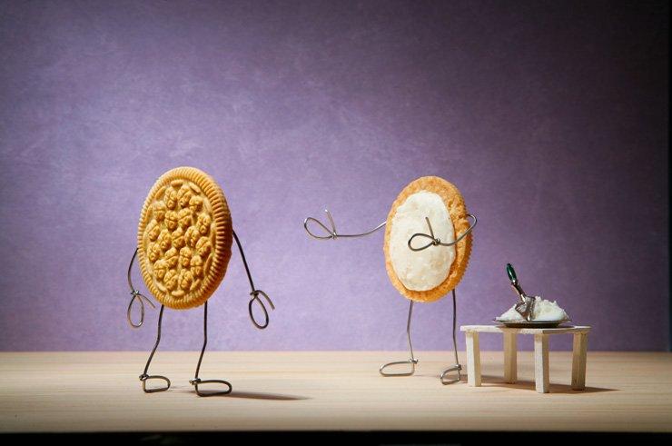 Savina Museum is presenting American artist Terry Border's artworks until Dec. 30. Shown is 'Sandwich Cookies.' /Courtesy of Savina Museum