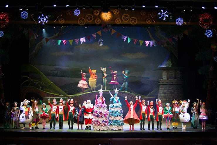 The operetta/musical 'Fantasia' is being staged at Theater Yong of the National Museum of Korea until Jan. 21, 2018. / Courtesy of HJ Culture